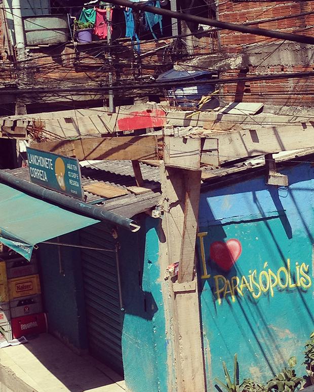 visita comunidade Paraisópolis convite LG
