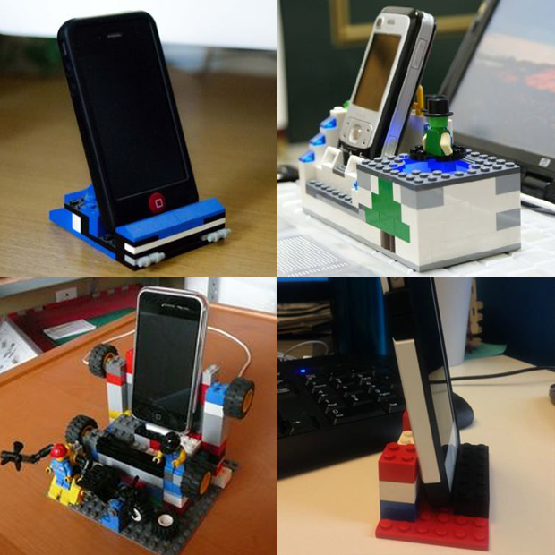 lego hacks porta celular