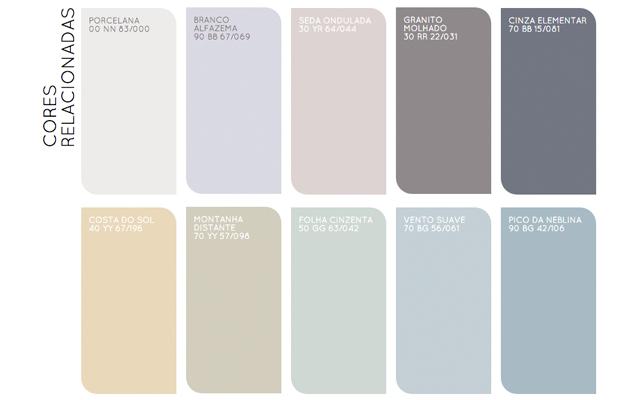 tendência 2016 colour futures palavras e imagens paleta