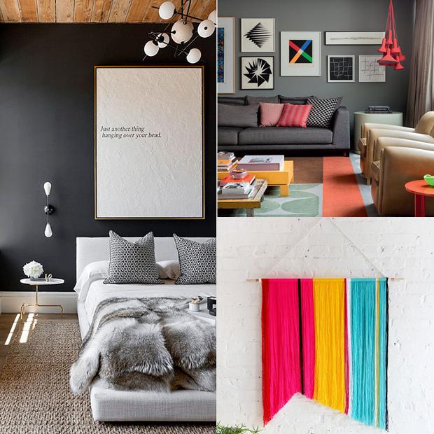tendência de decoração em 2016