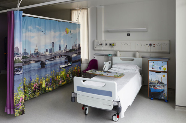 London Royal Children's Hospital hospital crianças cores e arte