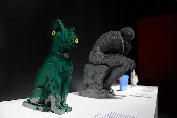The Art of the Brick exposição Lego Nathan Sawaya