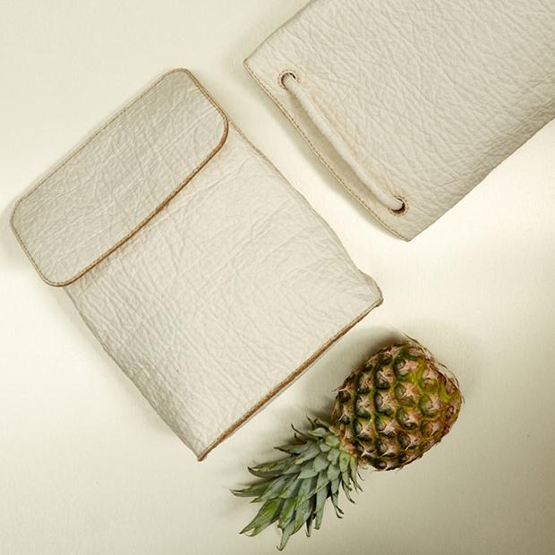 Piñatex: Conheça o couro ecológico feito com sobras de abacaxi que ...