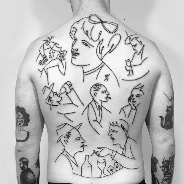 Caleb Kilby tattoo
