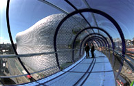 Selfridges Bridge, Birmingham. SFR steel.