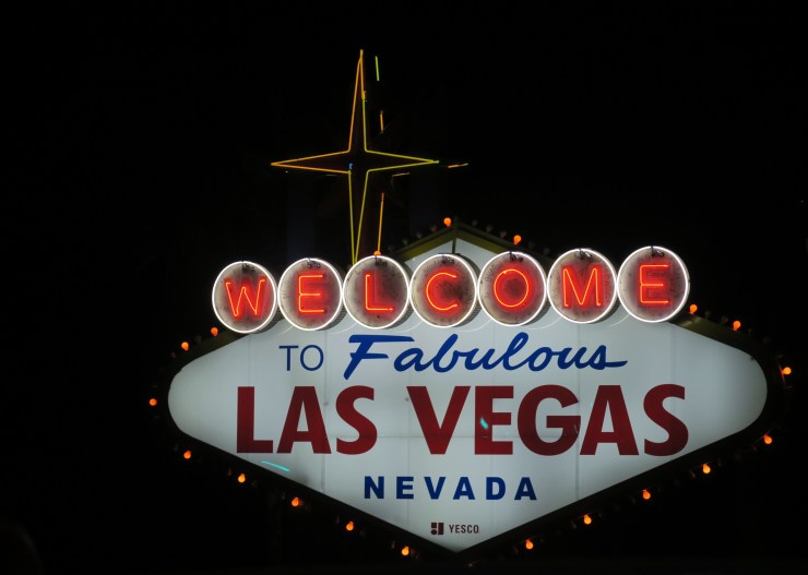 """The """"Welcome to Fabulous Las Vegas"""" Sign"""