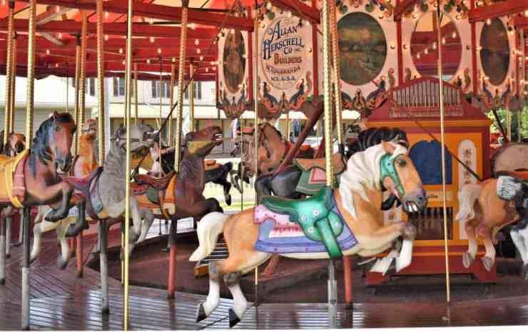 Carousel in Put-in-Bay