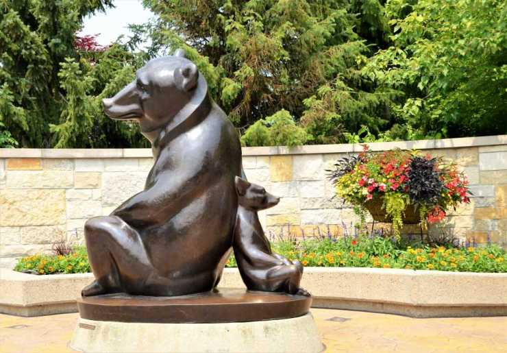 Entrance to Frederick Mejier Gardens & Sculpture Park