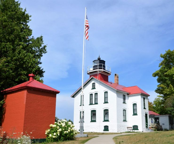 Grand Traverse Lighthouse in Traverse City