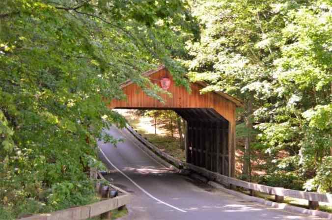 Covered Bridge on Pierce Stocking Scenic Drive