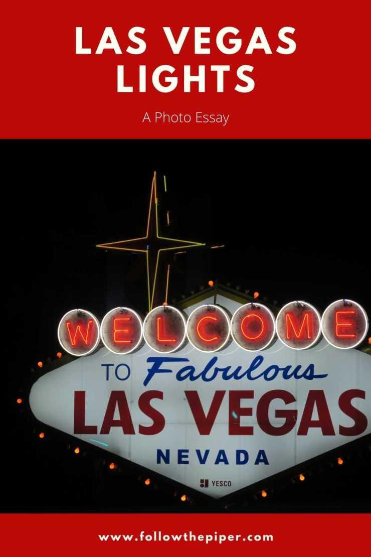 Las Vegas Lights Pinterest Graphic