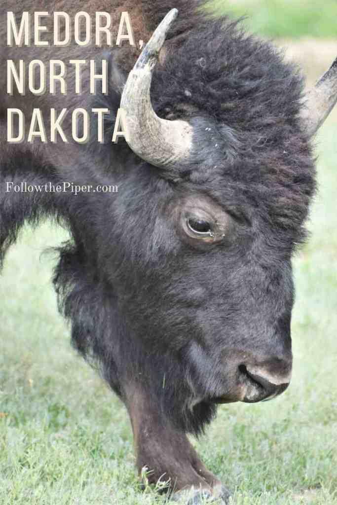 Medora, North Dakota Pinterest Graphic