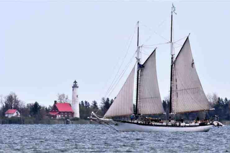 Tall Ship in East Tawas, Michigan