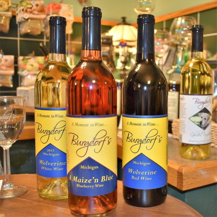 Burgdorf's Wine from their Winery in Haslett, Michigan