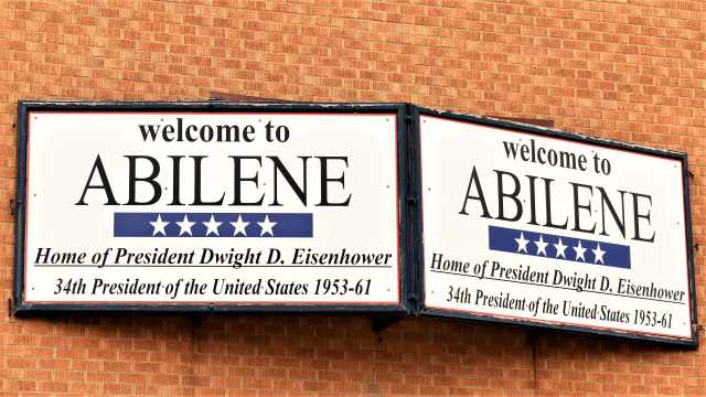 Welcome to Abilene Sign