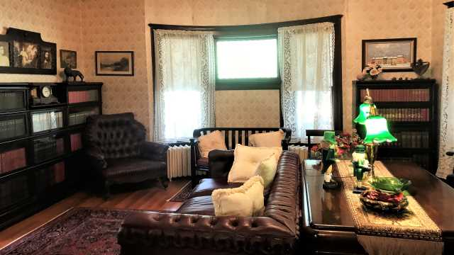 The Library at Seelye Mansion