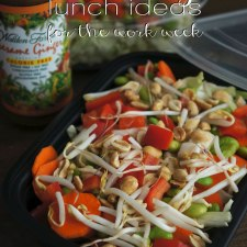 Healthy Lunch Ideas for the Work Week