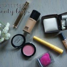 September Beauty Buys