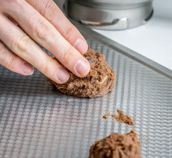 Chocolate Peanut Butter Cookies-3