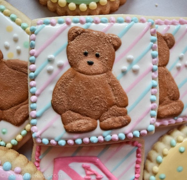 Teddy Bear Cookies-8