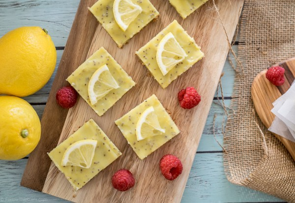 Healthy, Paleo lemon bars