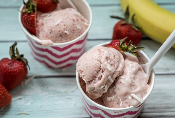 No churn strawberry banana ice cream follow the ruels easy no churn strawberry ice cream ccuart Choice Image