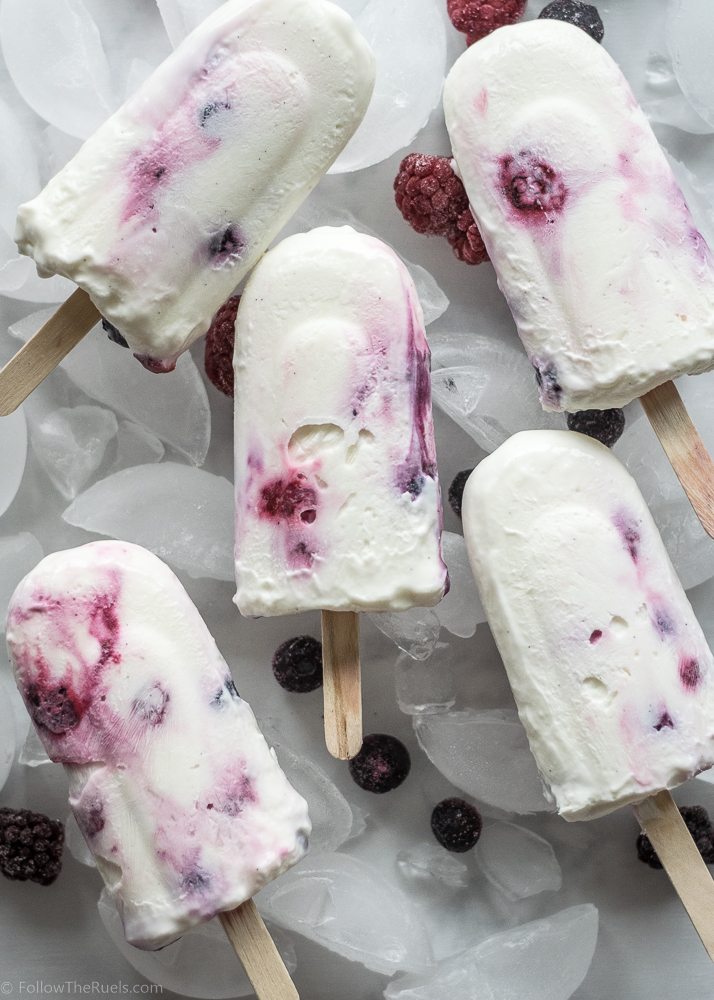 Healthy Greek Yogurt Pops