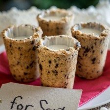 Milk and Cookie Cups