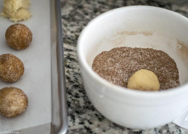 Vanilla Chai Snickerdoodles