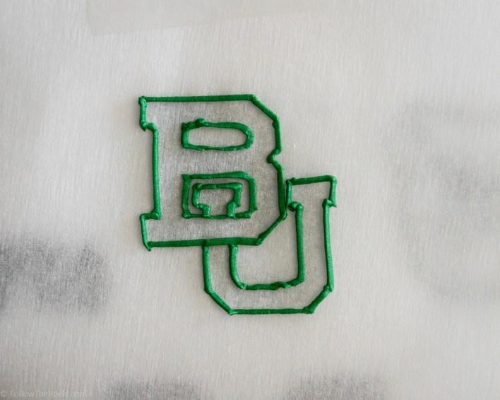Baylor Logo Cookies