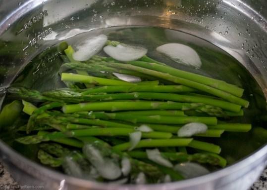 Asparagus Prosciutto Tart