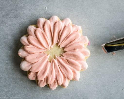 Gerber Daisy Flower Cookie Bouquet-4