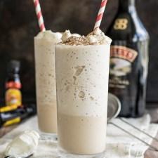 Boozy Frozen Latte