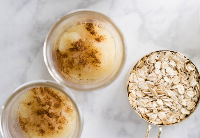 Apple Pie Overnight Oats-5