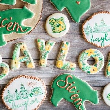 Baylor Homecoming Cookies