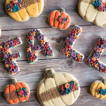 Fall Pumpkin Cookies