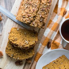 Maple Pecan Pumpkin Bread