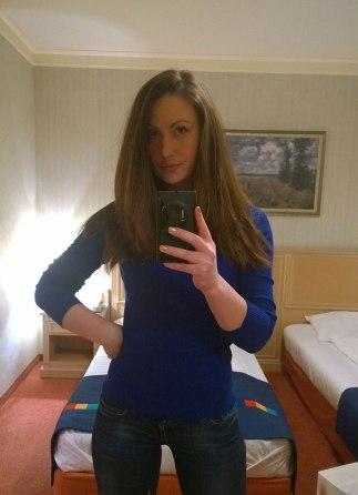 Nina, selfie in Park Inn by Radisson (2)
