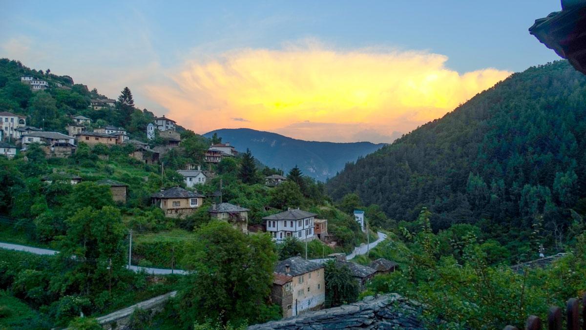 Complex Kosovo Houses, view