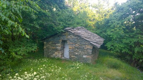 Kosovo village, chapel