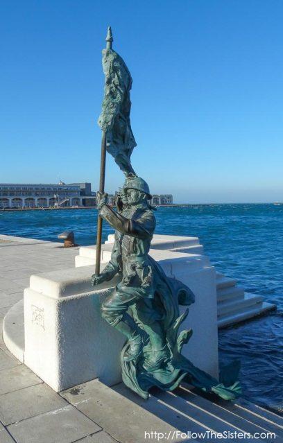 Bersaglieri in Trieste, Italy