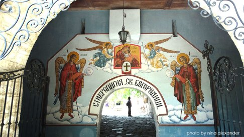 Murals-on-the-entrance-of-bachkovo-monastery