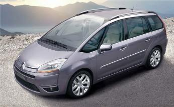 Citroen c4 Picasso to rent in Sofia Bulgaria from top