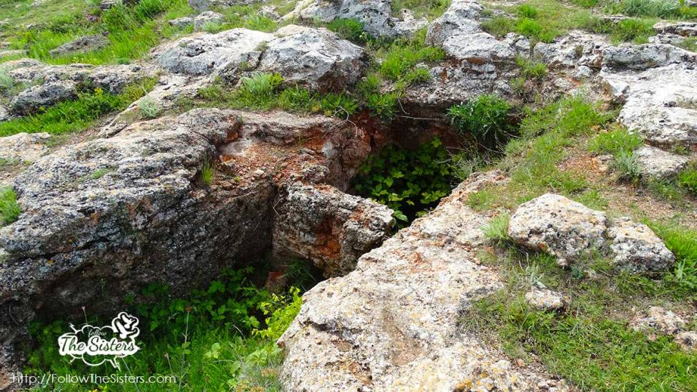 Thracian tombs in Archeological Reserve Yailata