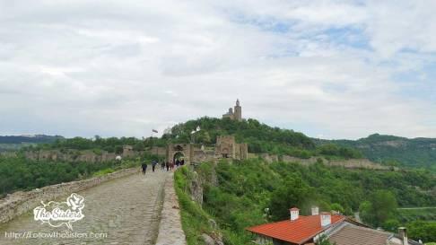 Tsarevetz fortress Veliko Tarnovo