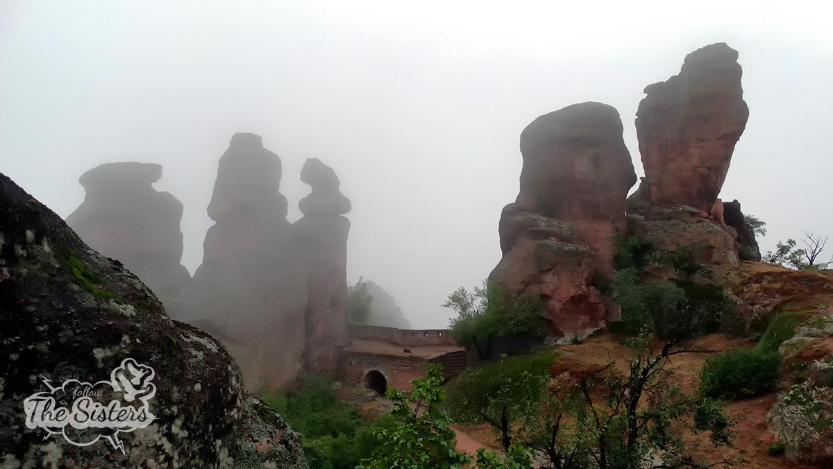 Foggy day in Belogradchik