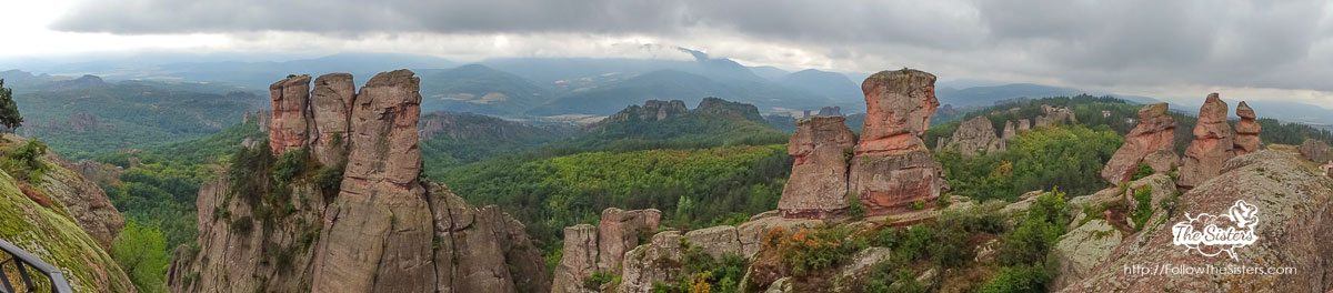 Panorama of the Belogradchik Rocks