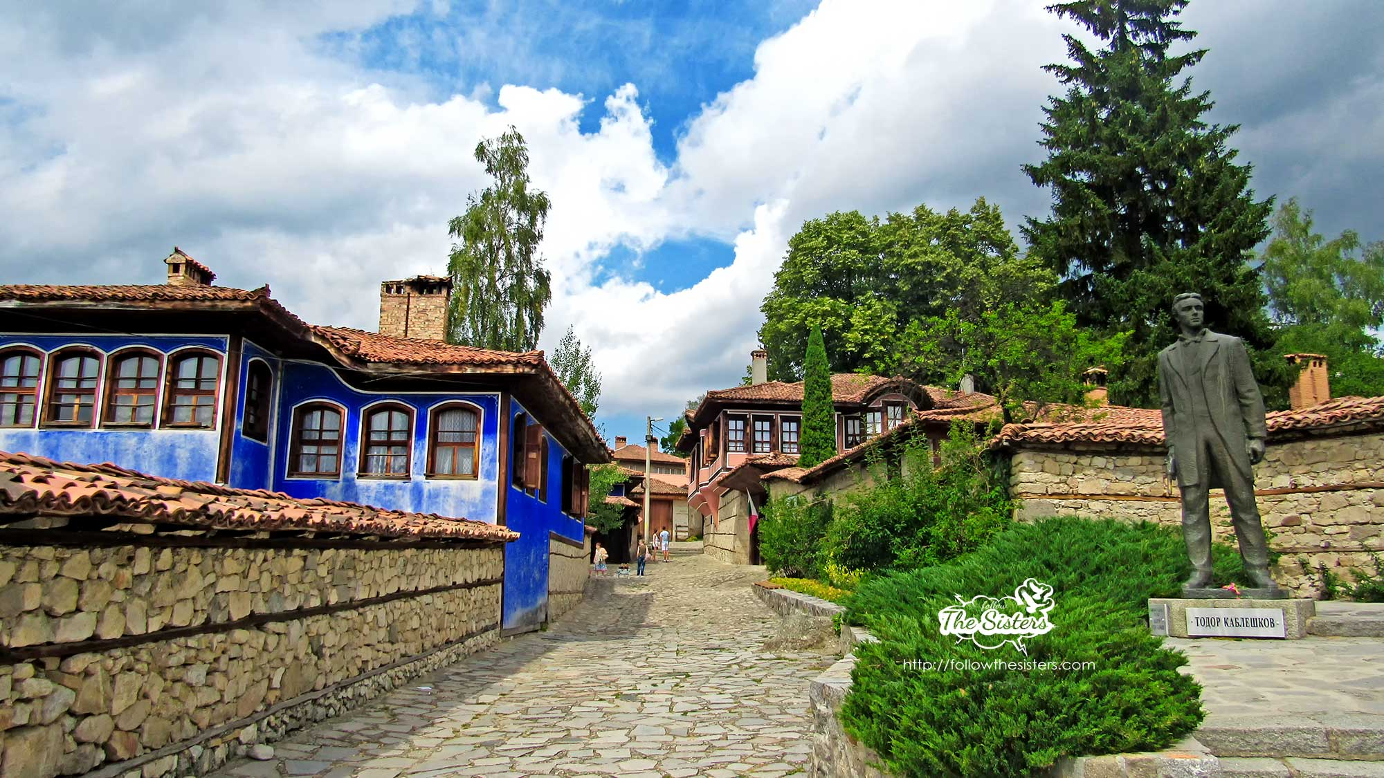 Photo: on the streets of Koprivshtitsa