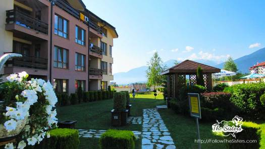 More from the garden of GreenWood hotel, Bansko