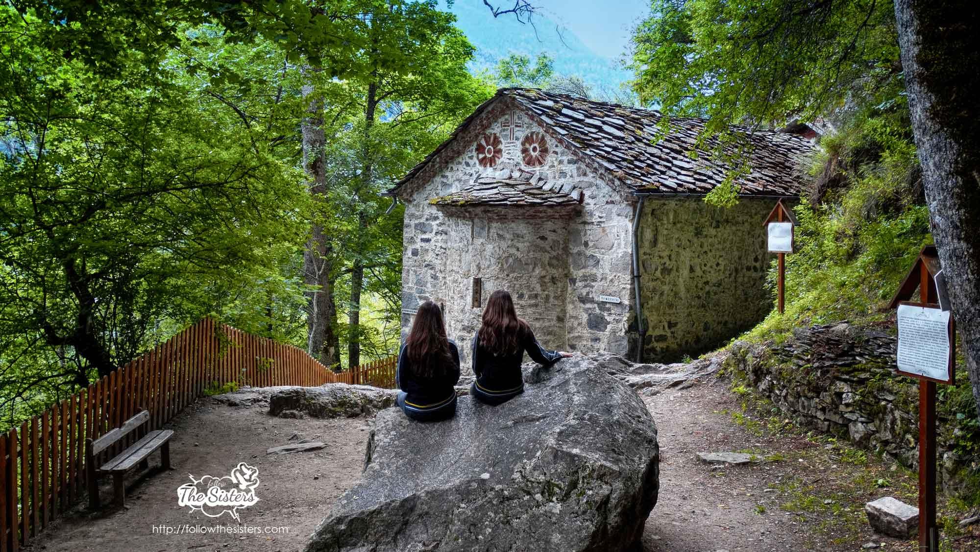 Nina and Ellie at St. Ivan Rilski's cave